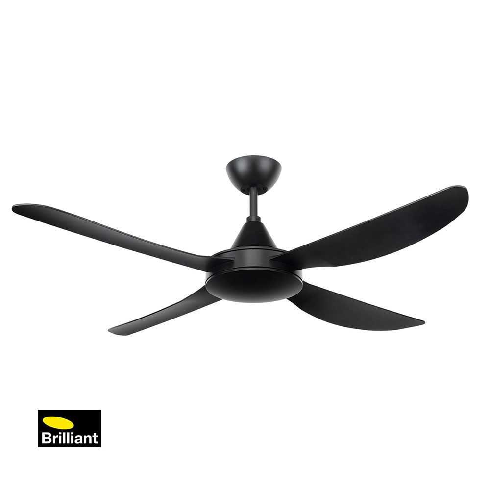 Brilliant Vector Black Ceiling Fan Installation