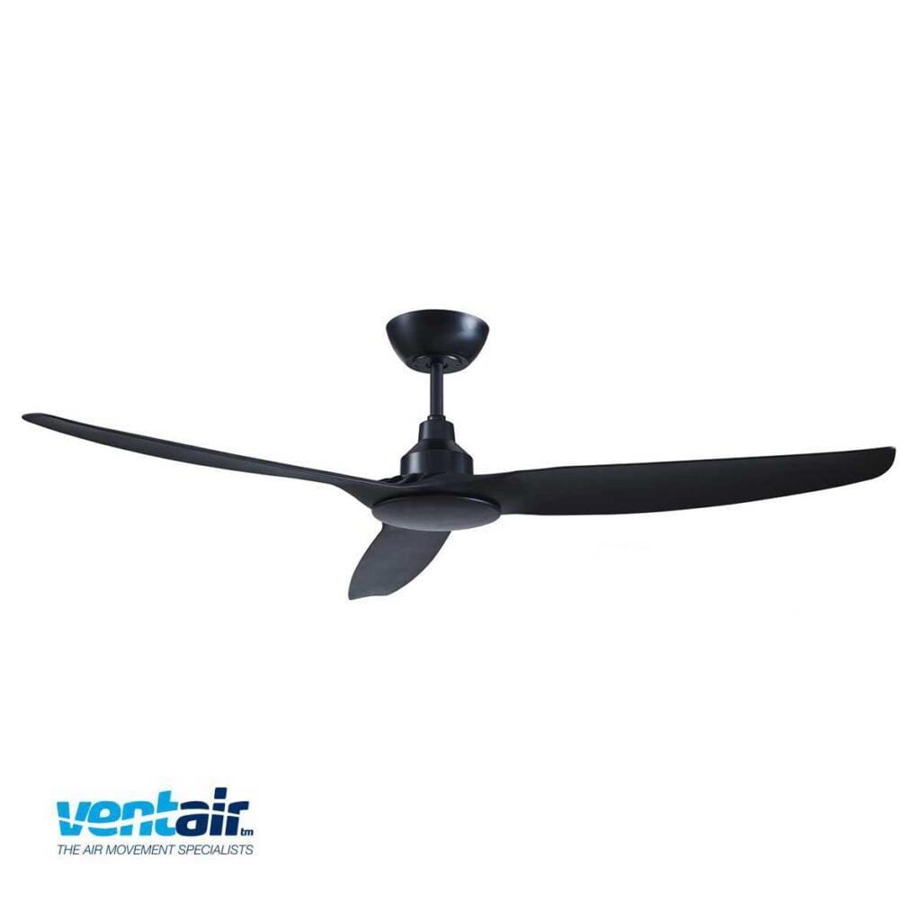 Ventair Black Skyfan Ceiling Fan Installation