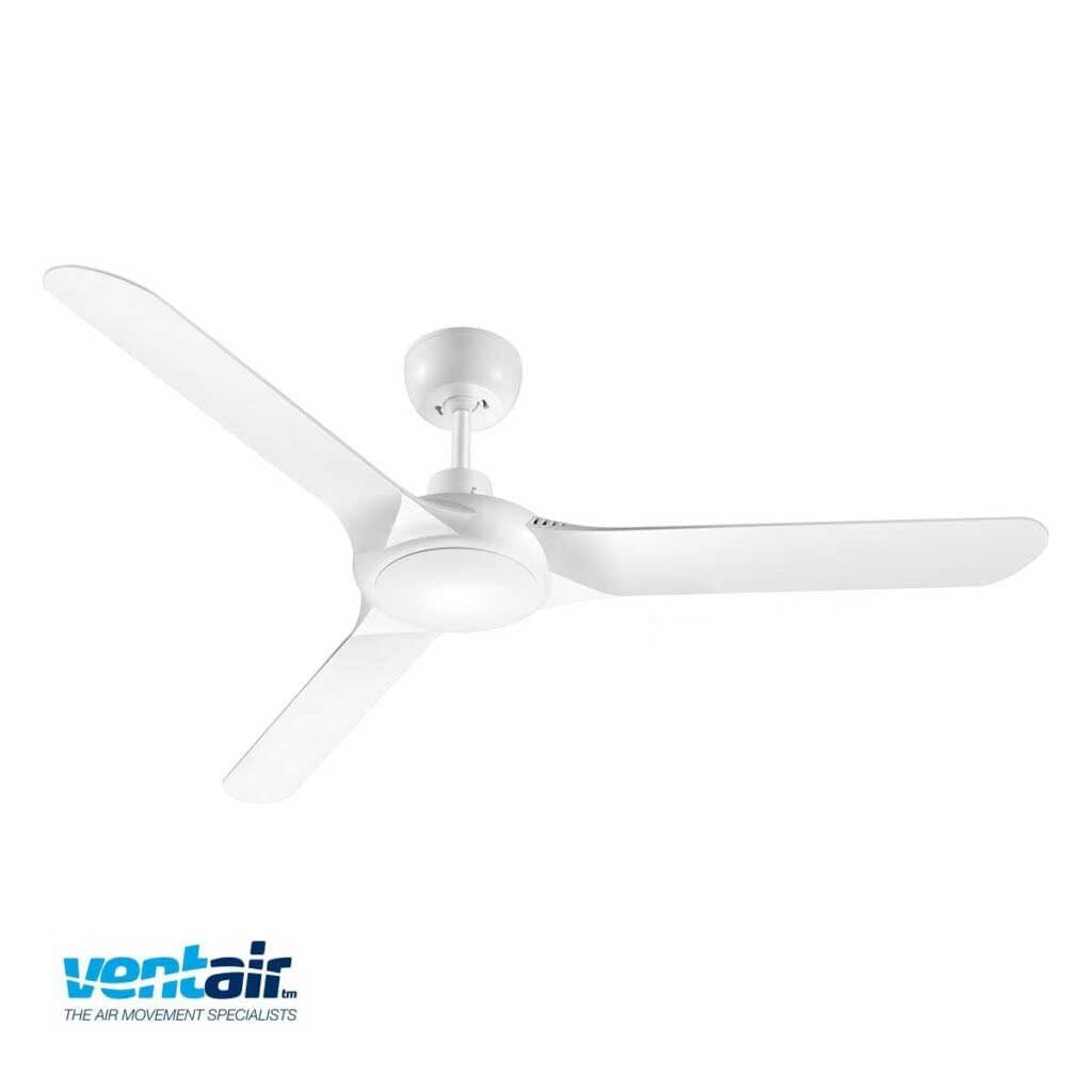 Ventair Spyda White Ceiling Fan Installation