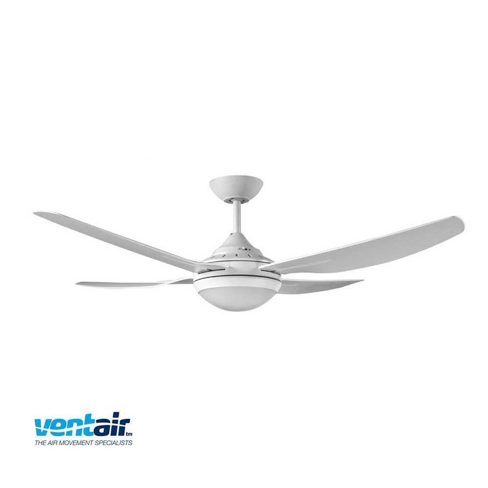 Ventair Royale White Fan Light Ceiling Fan Installation